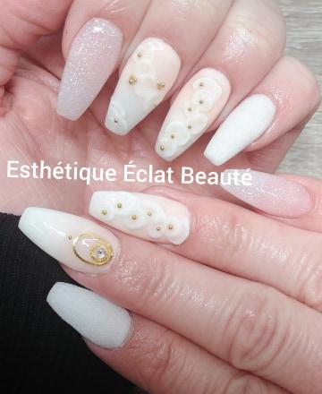 Manucure, pédicures et pose d'ongle à Laval et Blainville - Esthetique Éclat Beauté